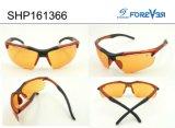 Glaces de la vision Shp161366 nocturne avec la lentille polarisée jaune