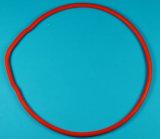 Silicone vermelho do FDA/selagem de borracha das peças gaxetas de Vmq