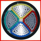 Силовой кабель изоляции PVC проводника /Al Cu Non бронированный