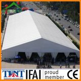 Tente protégeant du vent imperméable à l'eau d'entrepôt de mémoire de structure de bâti de toit de tissu