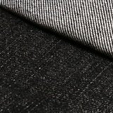 Tessuto 100% del denim del cotone del nero per i jeans