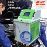 Máquina de comércio da limpeza do carbono do motor de automóveis do gás de Hho da garantia