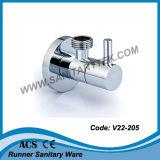 Угловой вентиль крома квадратный роскошный (V22-201)