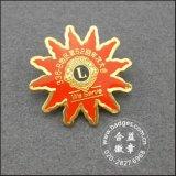 Kronen-Form-Reverspin-Messingabzeichen mit Diamanten (GZHY-LP-031)