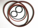 Joint circulaire en caoutchouc résistant de silicones de pétrole