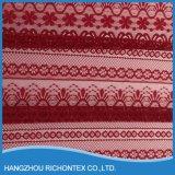 Tela del cordón del bordado del guipur, tela del guipur del cordón
