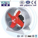 Ventilador de fluxo axial reparado das lâminas do passo de Yuton 4 para a finalidade da ventilação