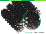 Indisches Jungfrau-Menschenhaar-natürliche schwarze Mikroring-Haar-Extension