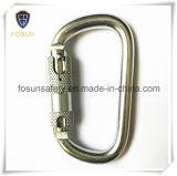 Digitare la molla dell'acciaio legato di D che chiude Carabiner a chiave (DS22-2)