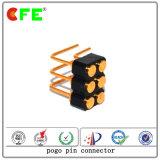 Doppelter verbiegender Batterieverbinder der Reihen-6pin
