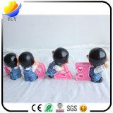 Negocio Individual China Bblue y porcelana blanca Wireless Mouse