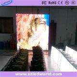 Tablilla de anuncios fija a todo color de interior de LED del alto brillo de SMD para hacer publicidad (P3, P4, P5, P6)