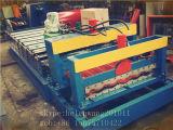 機械を形作る金属の屋根瓦