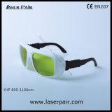 Gafas de seguridad 1000-1070 de laser de la protección Eyewear/del laser del IR Lb7 para ND 1064nm: Lasers de YAG, lasers de la fibra con el marco 36