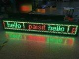 Enrolando sinal movente do texto do diodo emissor de luz do indicador