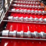 Puertas de acero galvanizadas del obturador del rodillo de las puertas de plegamiento que hacen la máquina