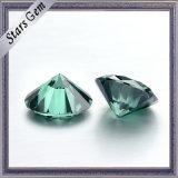 Exellentの品質の緑色のMoissaniteのダイヤモンド