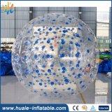 2016 bolas baratas al aire libre vendedoras calientes de Zorb, bola inflable de Zorb de la carrocería para la venta
