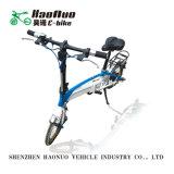 販売の女性のための2017年の折る小型シリーズ電気自転車