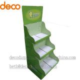 Présentoir de carton d'étalage de papier d'étage d'étalage de bruit