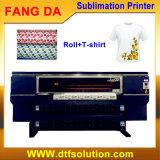 Impressora do Sublimation de 4 Digitas das cabeças para a impressão do poliéster