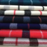 Twill-Check-Wolle-Gewebe-Oberes