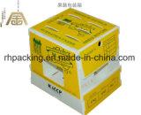 Twinwall pp. Kasten, Plastikkarton, pp.-Frucht-Kasten/zurückführbarer Polypropylen Corflute Frucht-Kasten-faltender Kasten mit Drucken