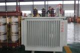 Tipo do petróleo do equipamento da distribuição de potência da fábrica transformador pequeno do tamanho de 3 fases