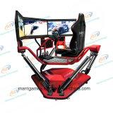 Heißestes 3 Bildschirme Vr laufendes Auto mit 6 Dof elektrischer Bewegungs-Plattform für Verkauf