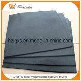 tapis en caoutchouc de Choquer-Réduction épais de carrelages de 15-70mm pour la forme physique