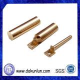Pipe/tube solides personnalisés par usine d'en cuivre de haute précision