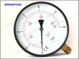 Allgemeiner Gpg-022 Druckanzeiger/schwarzes Stahlanzeigeinstrument/trockenes Manometer