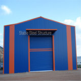 Atelier industriel de structure métallique
