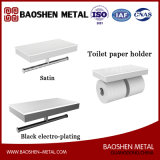 Полка товара комплекта щетки туалета нержавеющей стали для вспомогательного оборудования штуцеров ванной комнаты