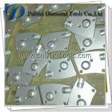 오래된 콘크리트 표면 접착제 페인트를 위한 PCD 콘크리트 공구 PCD 가는 패드는 Pkd 끝으로 제거한다