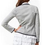 Tasten-Revers-Kurzschluss-Geschäftsfrau-formaler Mantel der Herbst-Form-eine