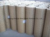 Acoplamiento de alambre soldado hecho de galvanizado, PVC o alambre de acero inoxidable