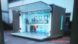 저가 현대 Conenvient 이동할 수 있는 Prefabricated 또는 조립식 다방 또는 바