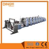 Impresora flexográfica recta