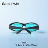 Occhiali di protezione di sicurezza del laser Rhp 600-700nm per il laser della Cina della macchina del laser/macchina del laser per la macchina di rimozione di rimozione del tatuaggio/del tatuaggio laser vermiglio