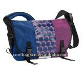 (KL276) Sacos pretos feitos sob encomenda do mensageiro do curso dos esportes do saco de ombro do estilingue