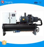 аттестованная Ce фабрика Китая охладителя воды винта низкой температуры 300kw