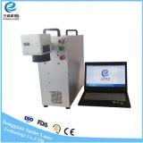 20W pilotent la machine portative d'inscription de laser de fibre pour l'interpréteur de commandes interactif et les boucles de téléphone