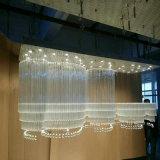 Lampadario a bracci a cristallo decorativo del lusso K9 dell'hotel per Corridoio