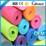 Estera de la yoga del PVC del precio directo de la fábrica, conectando a tierra la estera de la yoga