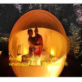 De duurzame het Kamperen Opblaasbare Bal van de Tent van de Bel Transparante Duidelijke met Twee Ingangen