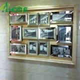De nieuwe Spiegels van de Muur van de Aankomst voor Verkoop Goedkoop voor winkelcomplex met de 4mm Afgeschuinde Foto's van de Decoratie van de Spiegel/van het Huis