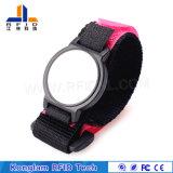 Wristband de nylon personalizado da cor RFID