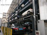Sistema robot di parcheggio con l'impilatore