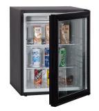 単一の可逆ドアの最もよい品質小型棒冷却装置黒